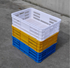 "Virgin HDPE high quality fruit crate, vented, plastic strong fruit crates for picking grapes 24"" x 16"" depth of 7"""