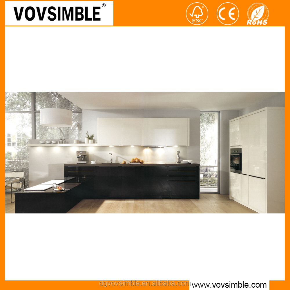 Simple home mdf kitchen cabinet set for project