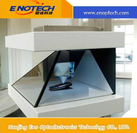ENOTECH 3d hologram 3D showcase/ Holographic 3D display cabinet for news conference, exhibition, display, event