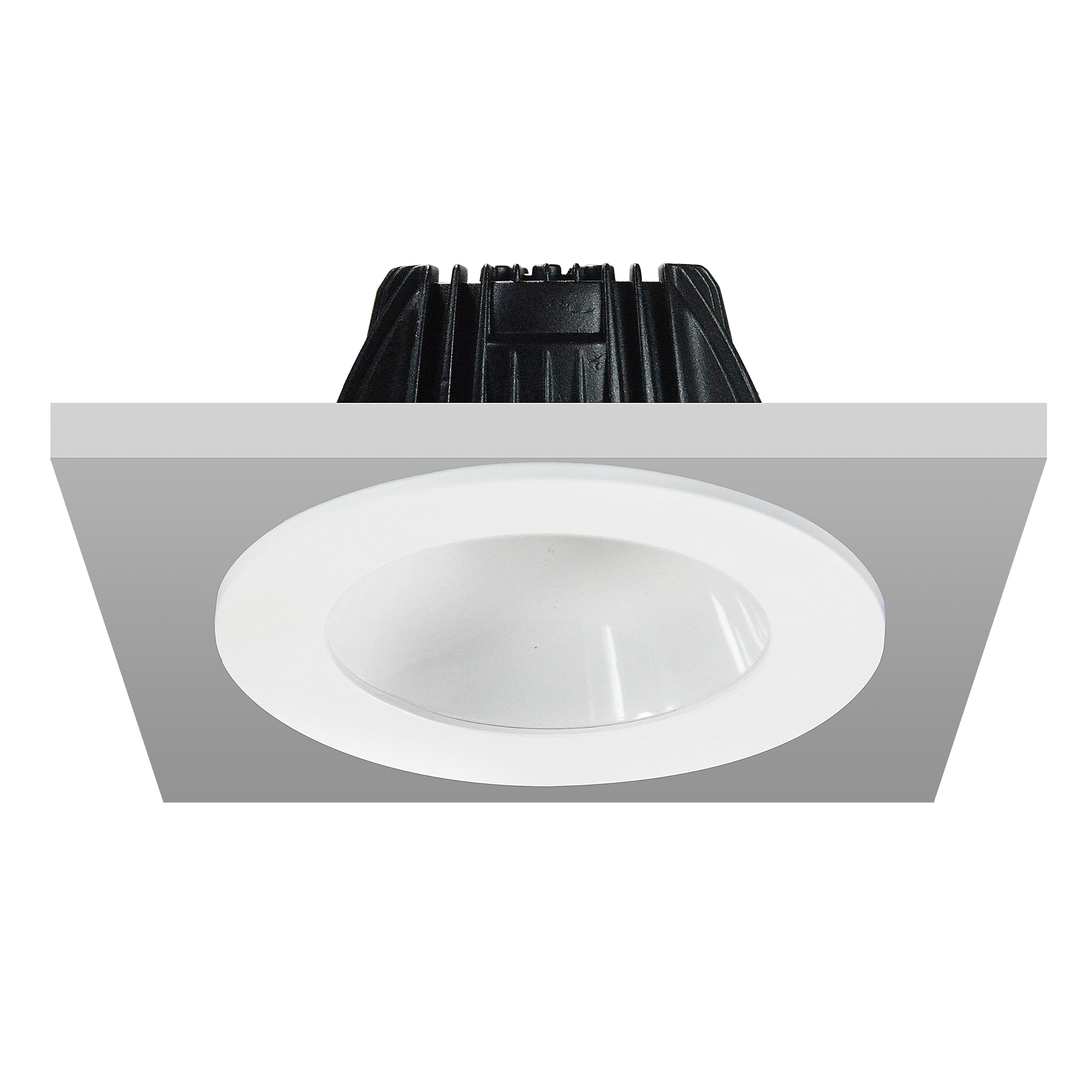anti-glare UGR 19 embedded recessed 3-in 3 inches 95mm cutout 12W LED Ceiling Downlight LED Down light  100Lm/w High CRI