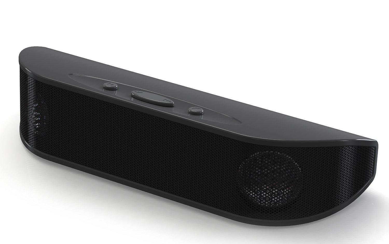 Proscan Portable Rugged Bluetooth Speaker, Black