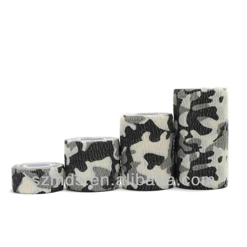 Camouflage Cotton Self Grip Elastic bandage