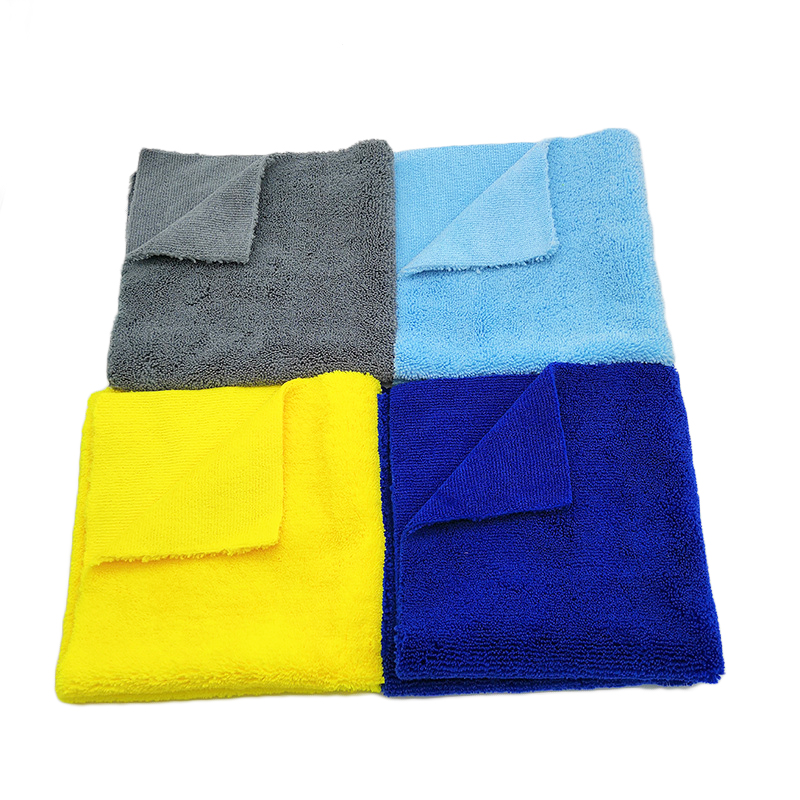 Microfiber towels for cars long and short pile microfiber car cleaning