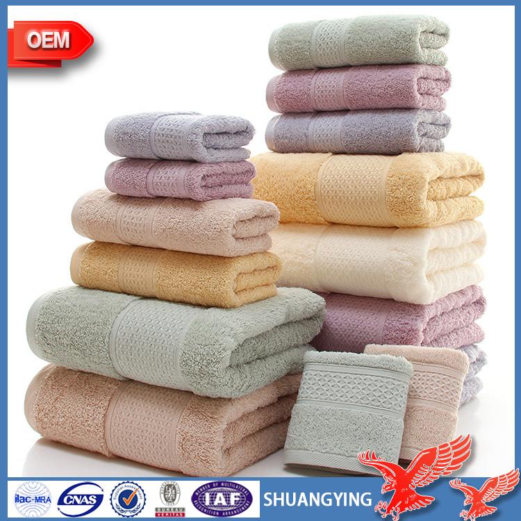 Fabricantes al por mayor algod n egipcio espesa absorbente toalla de regalo toalla - Toallas algodon egipcio ...