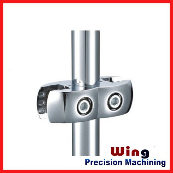 OEM High quality precision valve body die casting aluminum pipe