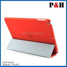 original leather case for ipad 5 with manufacture best quality
