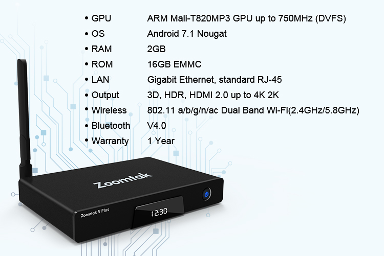 S912 Octa Core Arabo IPTV di Android Tv Box 6 gb di Ram con 3g 4g Sim Card