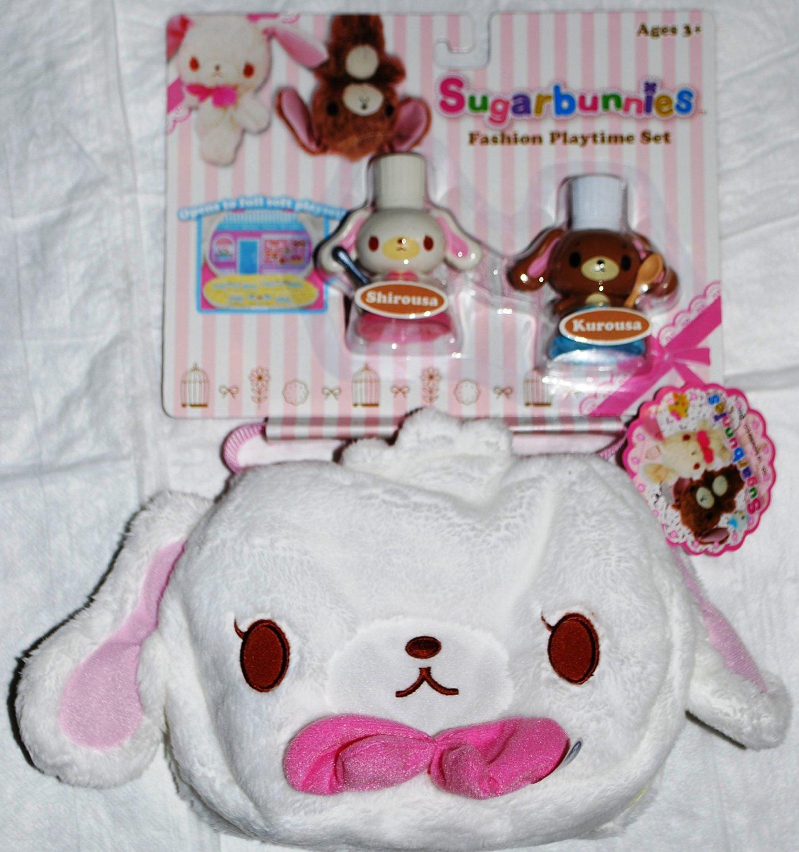 Sanrio Sugarbunnies Fashion Playtime Set Shirousa & Kurousa