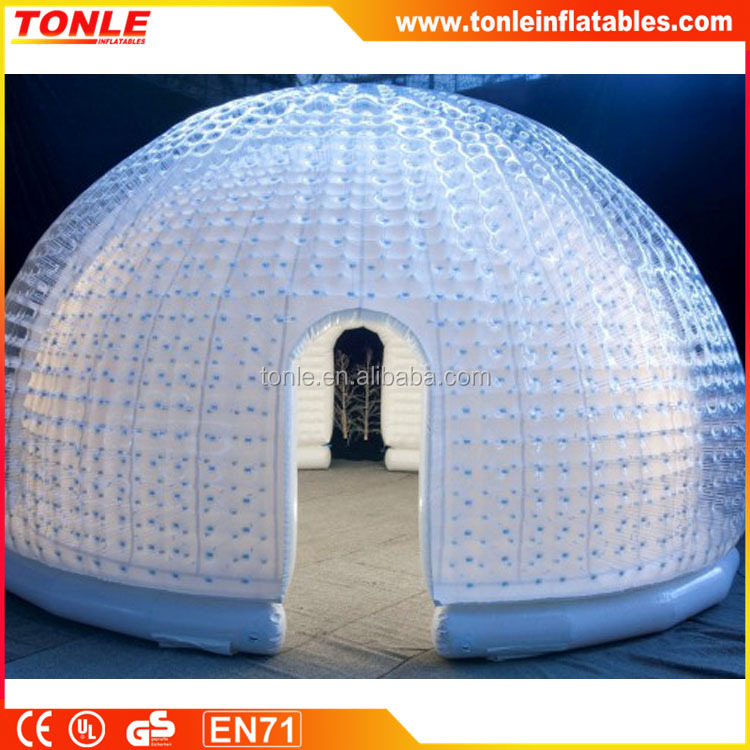inflatable Igloo Marquee Dome, inflatable dome marquee, inflatable lgloo tent