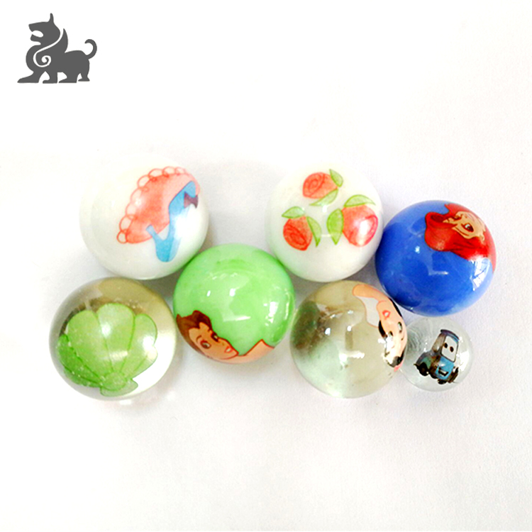 High quality various styles kinds glass balls for game playing