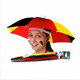 China outdoor small head umbrella, mini umbrella hat, sunshade cap umbrellas