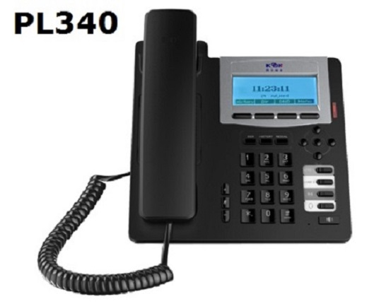 Low cost VoIP phone IP Phone SIP Phone PL-340 from Koontech Steady quality