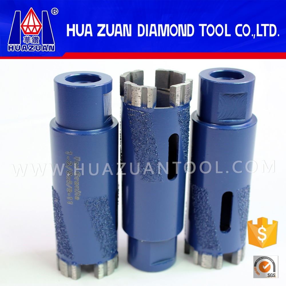 High efficiency brazed core bit for granit stone <strong>drilling</strong>