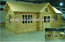 hot sale earthquake proof wood villa prefabricated log houses
