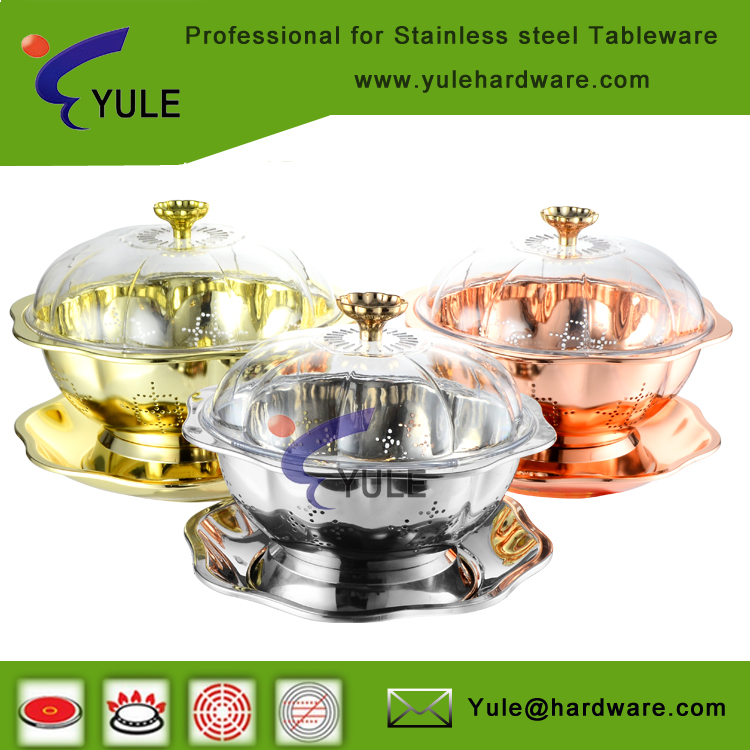 Christmas gife beautiful design serving dish with stand /fruit dish/fruit basket for wholesale