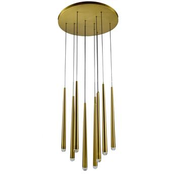 2019 Contemporary brass cylinder flush mount led pendant light Luxury Chandelier