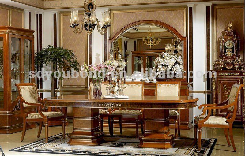 2015 europa ontwerp 0031 klassieke eetkamer houten tafels product id 592658016 - Buffeteetkamer ontwerp ...