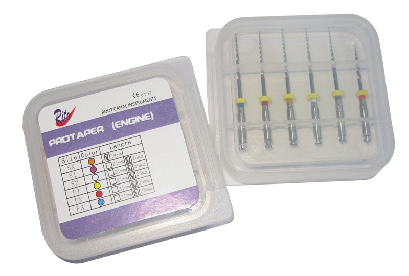 PE-SX-19 Protaper Engine Use SX-19mm(5 boxes in a set) - Dental Root Canal File