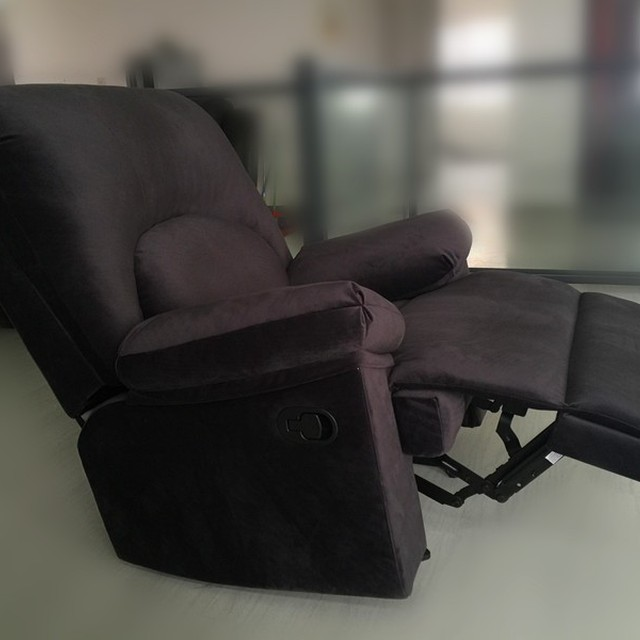 Home Furniture Compact Heated Sofa Fabric Recliner Chair