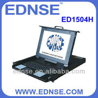 ED1504H KVM with 8 ports rackmount keyboard drawer