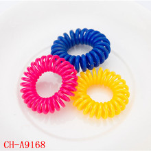 New traceless hair tie elastic phone cord hair band/telephone wire hair accessories