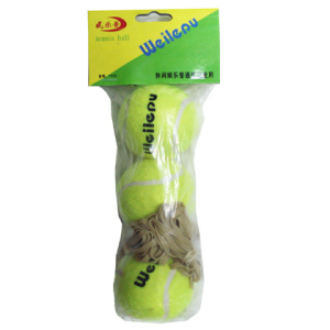 3 pcs /bag with Elastic String Design your Own Logo Heavy Tennis Ball Tennis Ball Training Cricket Tennis Ball