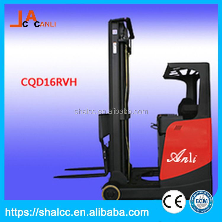 Low noise flexible front wheel protect cover reach truck