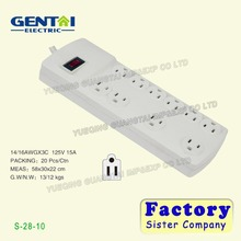 Home Office switch Protector Outlet Usb Eletrical Power Strip