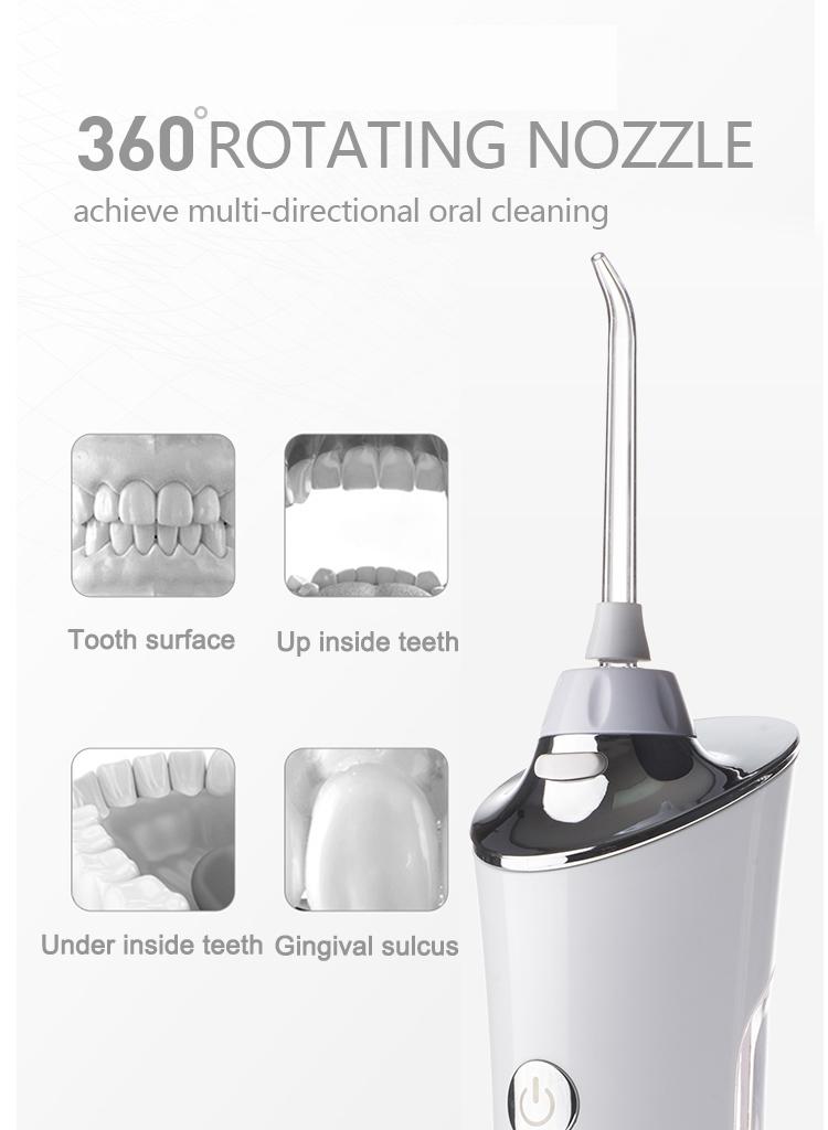 Beste Dental FDA Bestanden Haushalts Beliebten Tragbare Waterflosser
