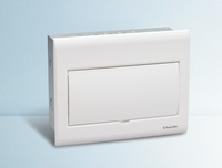 Anti-UV plastic cover wall mounted distribution box