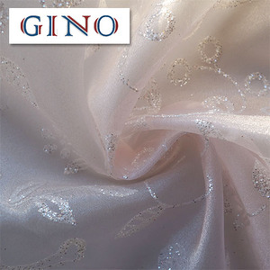 polyester organza /voile fabric for wedding/curtain/embroidery