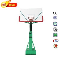 Golf courses stainless steel basketball hoop