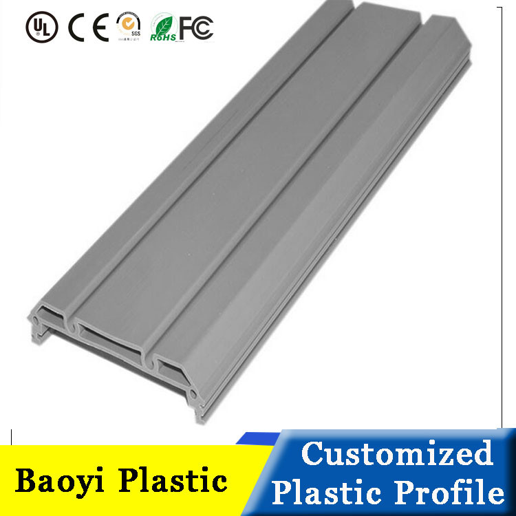 Customized decorative plastic PVC Extrusion Profile