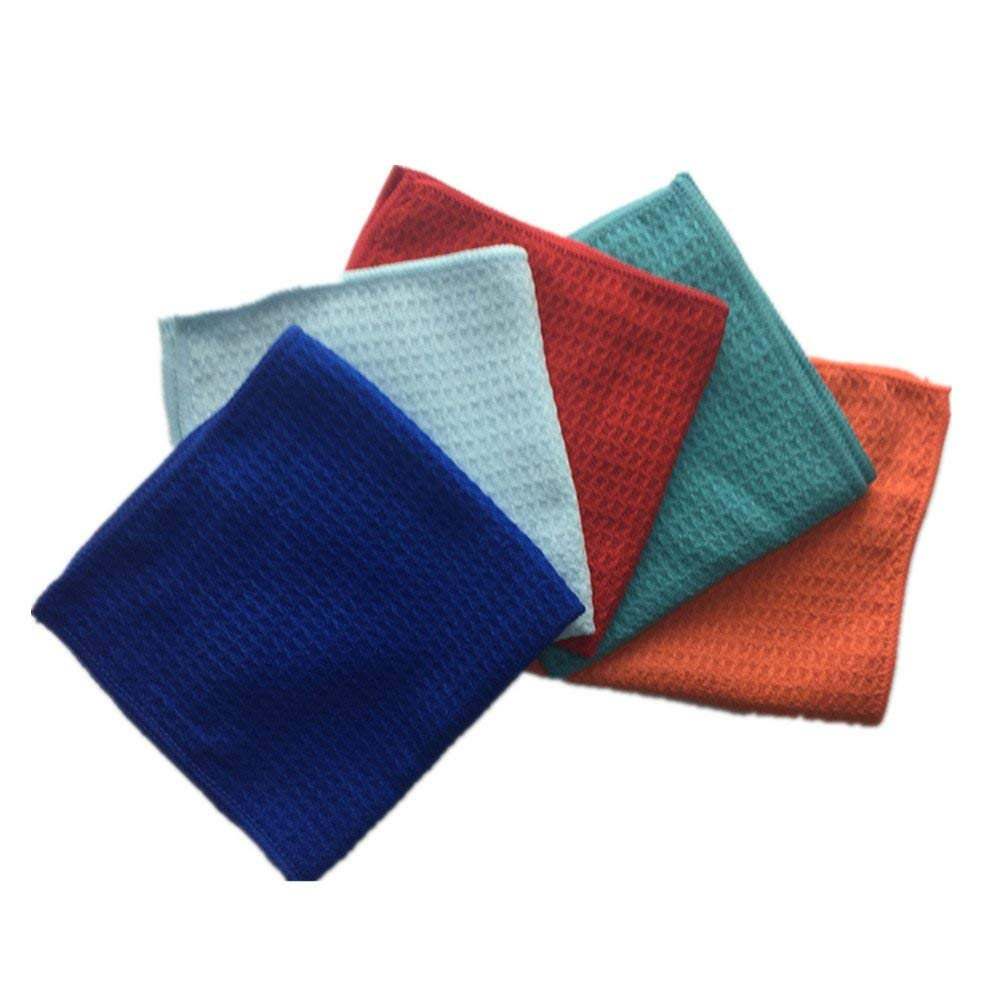 66c3b31c82157 Get Quotations · M-S Microfiber Dish Cloth Best Kitchen Cloths Cleaning  Cloths With Poly Scour Side 12.88