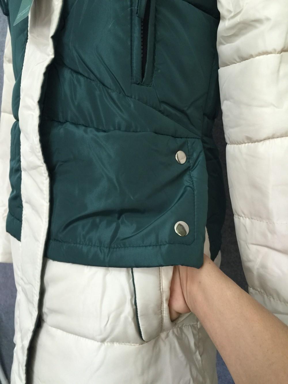 Роскошные / темперамент станция европа 2015 новый кожаный мех лисы овец куртка кожа и длинное пальто зимнее Gacket женщин