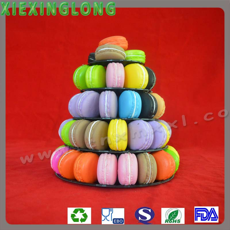 China Supplier Clear Acrylic Macaron Stand Plastic Macaron Display ...