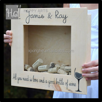 Personalized Wine Cork Shadow Box Frame Buy Wine Cork Holder