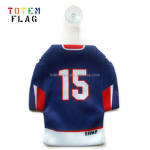Car Window Decoration Mini Hockey Jersey