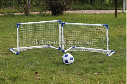 Foldable Mini Soccer Goal Post For Kids Double One - Buy Pvc Mini Goal Post  Double 1fd093d79630