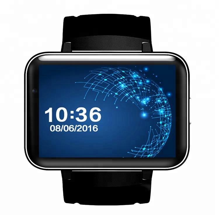 2.2inch big screen 3g wifi 900mAh dual sim android smart mobile watch phone with wifi фото