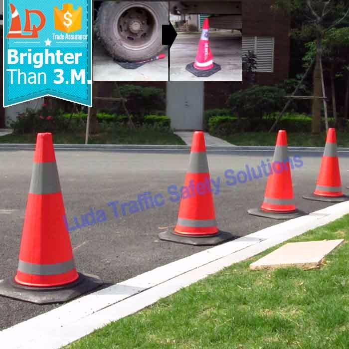 Perfect Quality EVA Traffic Cones For Government Agencies