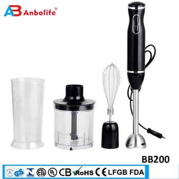 dc motor handheld electric mixer blender rohs set hand stick blender bottle electric hand blender