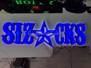 Custom Made LED Acrylic Luminous Letters Shop Open Sign