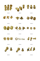 Lead Free Brass Push Fit Fittings Quick Coupling Pipe Fitting ...