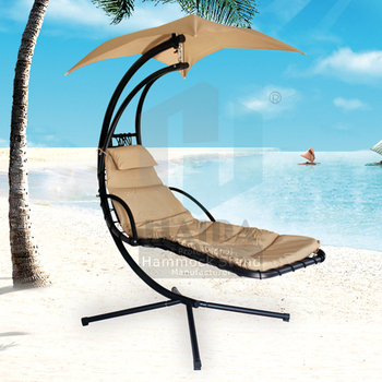 Haida Chaise Lounger Hammock Chair Swing Lounger Hammock, Hanging Hammock  Stand New