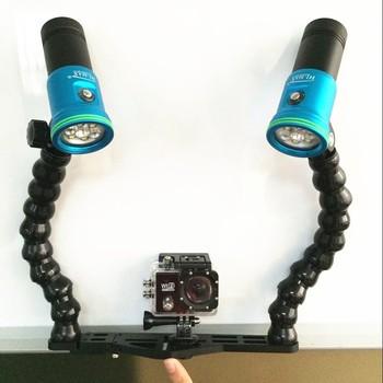 120 Caméra Sauvage Vidéo angle Lampe De Buy Bras Marine Plongée Angle Led Avec Sous Degré Réglable Poche doWCxBer