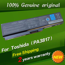 Free shipping PA3817U-1BRS PA3818U-1BRS PABAS227 PABAS228 Original laptop Battery For Toshiba Qosmio T551 T351 T451 L730 L735