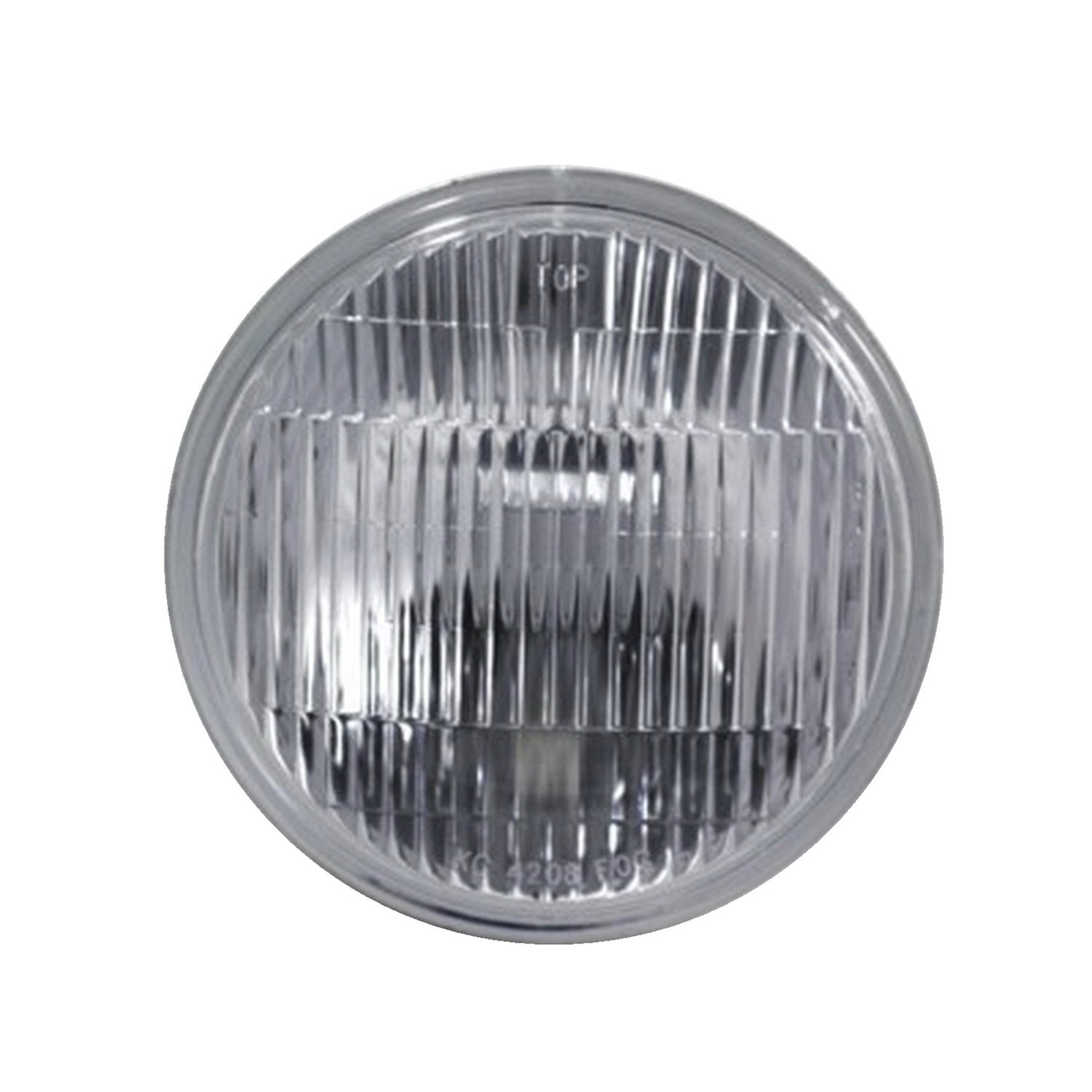 """Get Quotations · KC HiLiTES 4208 5"""" Replacement Fog Beam Pattern Glass  Lens/Reflector with H3 Bulb"""
