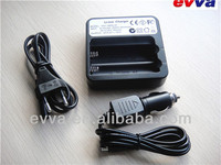 Quality Universal Smart 18650 Li-ion Battery Charger US/UK/EU Plug with Car charger