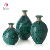 Wholesale  Blue Glass Vases Elegant Table Craft Decoracion Hogar